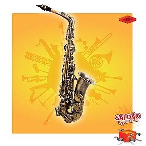 Saxofone Alto Hoyden HAS-25EN Envelhecido