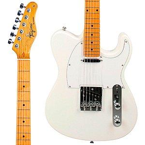 Guitarra Tagima Woodstock TW-55 WH Branca Telecaster