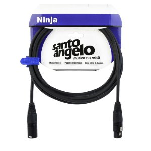 Cabo S. Angelo NinjaLW  XLRM x XLRF B 15FT 4,57mt