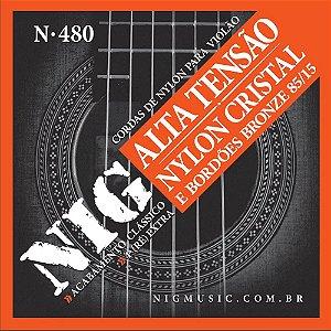 Encordoamento Nig Violao Nylon N-480 Bronze