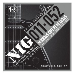 Encordoamento Nig Guitarra 011 N-61