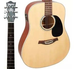 Violao Tagima Woodstock TW-25 NS Folk Natural Elet