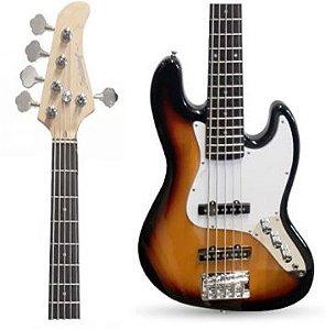 Baixo Strinberg JBS-45 SB Jazz Bass Sunburst 5 Cordas