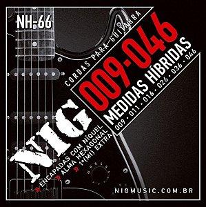 Encordoamento Nig Guitarra 009 NH-66