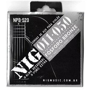 Encord Nig Violao NPB-520 011 Fosforo/Bronze
