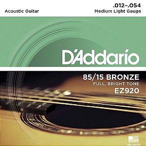 Encord Daddario Violao EZ920 012 Bronze 85/15