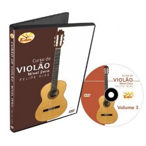 Video Aula Edon Curso de Violao Nivel Zero Vol 3