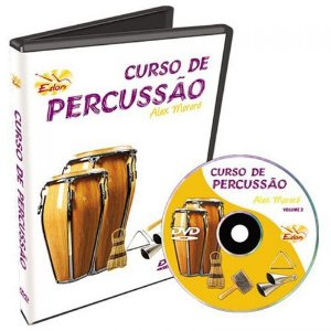 Video Aula Edon Curso de Percussao Vol 1