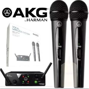 Microfone s/ Fio AKG WMS 40 Mini Dual Vocal Set US