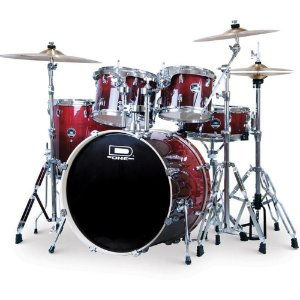 Bateria D One Street DS22NW Natural Vinho Bumbo 22