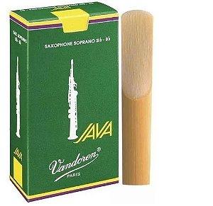 Palheta Vandoren Java Sax Soprano 2.0 UNID