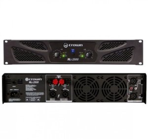 Amplificador Crown XLi2500 1500 W/4R 127V