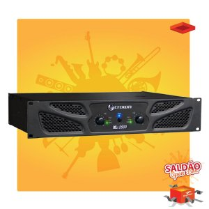 Amplificador Crown XLi2500 1500 W/4R 127V