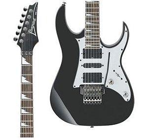 Guitarra Ibanez RG 350EX BK Preta Escudo Cromado