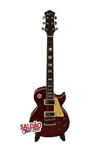 Guitarra Tagima TLP FLAMED Les Paul Vermelho Trans