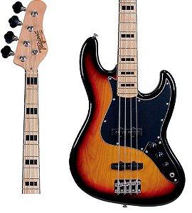 Baixo Tagima TJB4 SB 4 Cordas Sunburst Passivo Jazz Bass