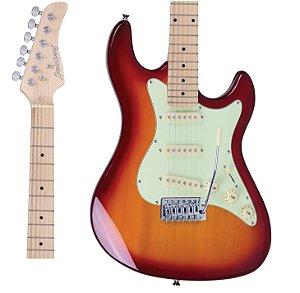 Guitarra Strinberg STS100 CS Strato Cherry Sunburst