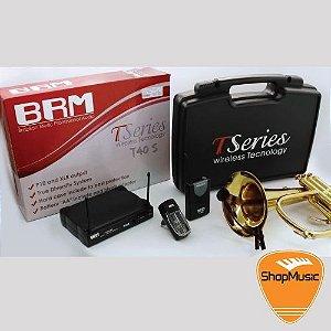 Kit de Microfone BRM T40S p/ Instrumento de Sopro