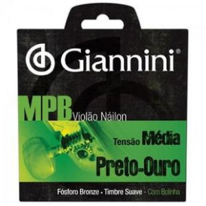 Encordoamento Giannini MPB GENWG Violao Nylon c/ Bol
