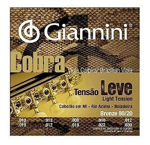 Encordoamento Giannini Cobra P/ Viola GESVNL T Leve