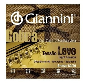 Encord Giannini Cobra P/ Viola GESVNL T Leve