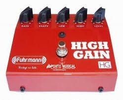 Pedal Fuhrmann HG01 High Gain