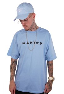 Camiseta Wanted - Logo Frontal