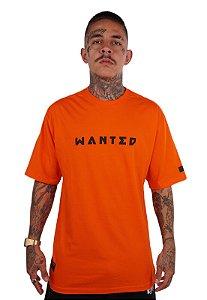 Camiseta Wanted - Logo Frontal