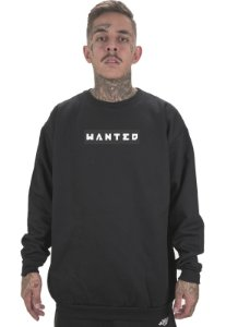 Moletom Wanted - Box Logo