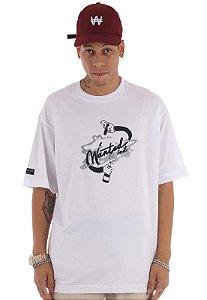 Camiseta Premium Wanted - Ind Branca