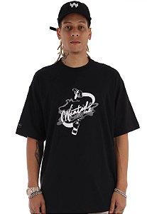 Camiseta Premium Wanted - Ind Preta