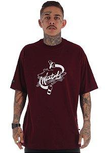 Camiseta Premium Wanted - Ind Vinho