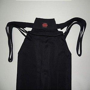 Hakama Aikido - 100 % Poliester - Sob Medida - Cor: Preto