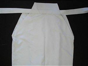 Hakama Aikido - 100 % Poliester - Sob Medida - Cor: Branco
