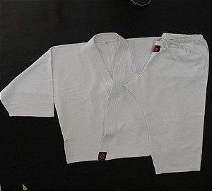 Dogui Infanto-Juvenil - 100% Poliester Gabardine - Conjunto Aikido - Branco