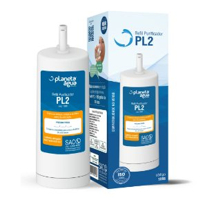 Filtro Refil PL2 para Purificador de Água Latina – P655 (Similar)