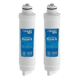 Kit com 2 Filtro Refil Prolux G para Purificador de Água Electrolux – PA21G, PA26G e PA31G (Similar)