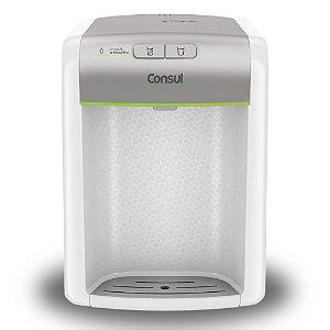 Purificador de Água Consul CPB34AS Branco e Prata C/ Eficiência Bacteriológica -  Refrigerado (Bivolt)