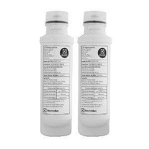 KIT 02 - Filtro Refil PAPPCA10 para Purificador de Água Electrolux – PA10N, PA20G, PA25G, PA30G e PA40G (Original)