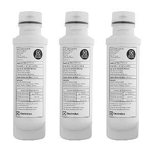 KIT 03 - Filtro Refil PAPPCA10 para Purificador de Água Electrolux – PA10N, PA20G, PA25G, PA30G e PA40G (Original)