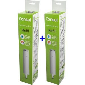 Kit Com 2 Refis / Filtro CIX01AX  Para Purificador de Água CONSUL - CPC30|CPB35 e CPB36 (Original)