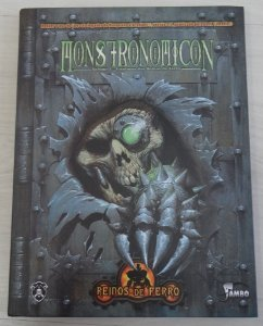 Livro RPG Monstronomicon - Reinos de Ferro