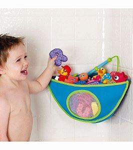 Organizador de Brinquedos para Banho, da Munchkin, cor Azul