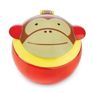 Pote para Biscoitinhos Skip Hop Zoo, tema Macaco