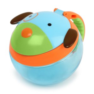 Pote para Biscoitinhos Skip Hop Zoo, tema Cachorro