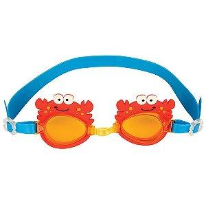 Óculos de natação infantil da Stephen Joseph, Caranguejo
