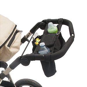 Porta trecos Universal para carrinhos de bebê, Stroller Caddy, da Jolly Jumper