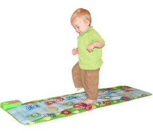 Tapete Musical Retangular, Educativo para Andar, da Jolly Jumper