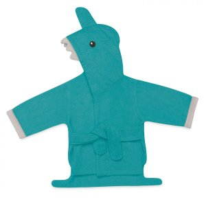 Roupão Para Bebê Com Capuz Tubarão  - Multikids - BB074