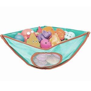 Organizador de Brinquedos para Banho Azul Buba Baby